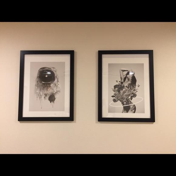 2 art prints from society6